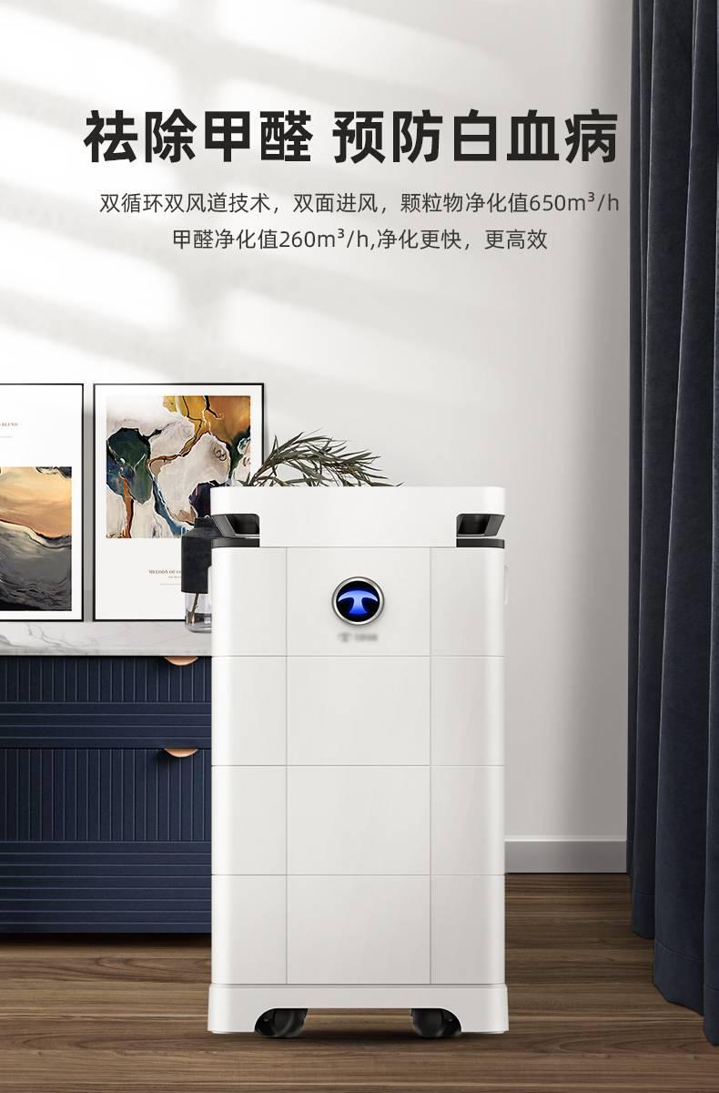 简约小家电智能家居空气净化器